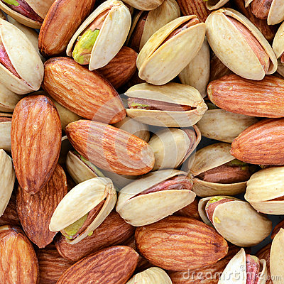 Pistachios & almonds