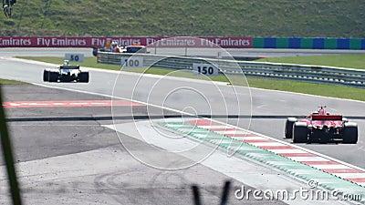 Pistas de decolagem para carros de competência de corrida