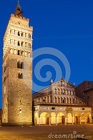 Free Pistoia Duomo Cathedral Monument Stock Photography - 69144092