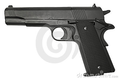 Pistol Stock Photo