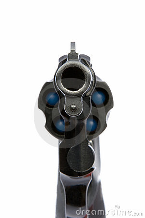 Free Pistol Aiming At You Stock Photography - 1234002