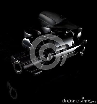 Free Pistol At Night Royalty Free Stock Image - 10635196