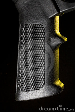 Pistol grip with yelloq