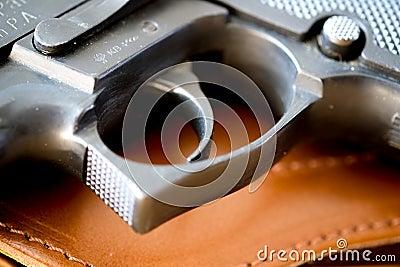 Pistol or gun trigger