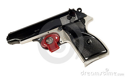 Pistol and trigger lock