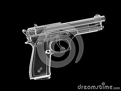 Pistola dei raggi X