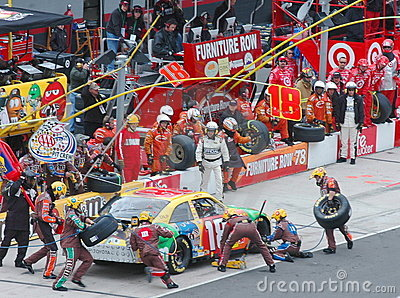 Pit stop Editorial Image
