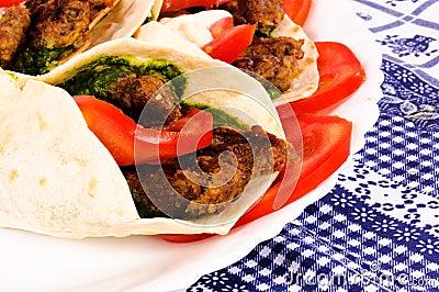 Pita meat