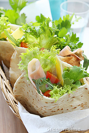 Pita Pockets Stock Image - Image: 3414561