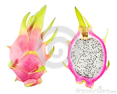 Pitahaya isolated