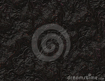 Pitch Black Rock Background Texture