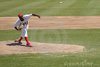 Pitcher Editorial Image