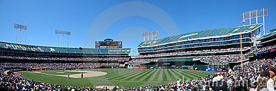 Pitcher gets ready to throw at Oakland Coliseum Editorial Photography
