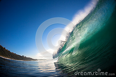 Pitching Wave Ocean Water