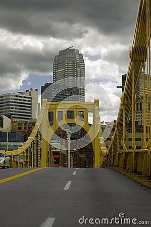 Free Pittsburgh Bridge Royalty Free Stock Photo - 1432595