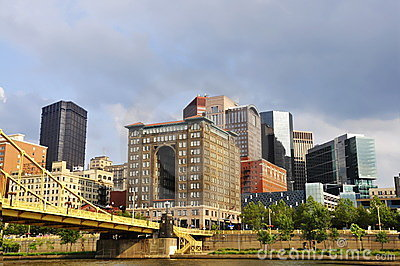 Pittsburgh Bridge and Buildings