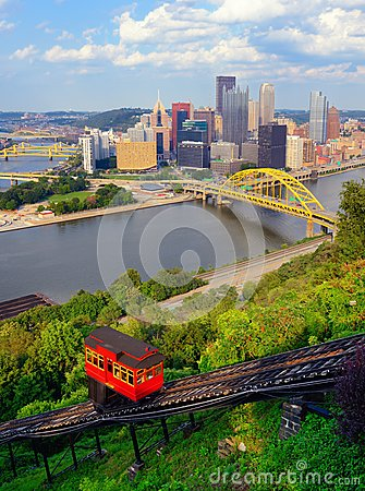 Free Pittsburgh Incline Royalty Free Stock Image - 26288856