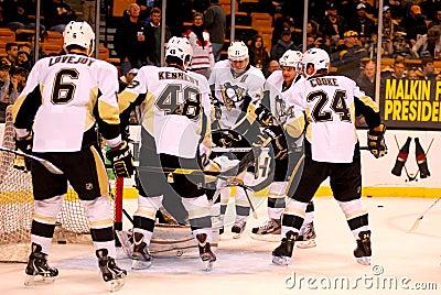 Pittsburgh Penguins NHL Hockey Editorial Image