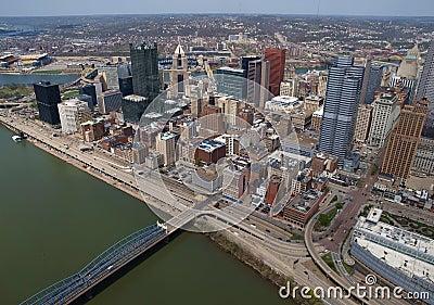 Pittsburgh Pennsylvania Aerial
