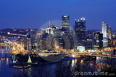 Pittsburgh Skyline Editorial Image