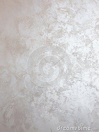 Pittura Dargento Sulla Parete Fotografia Stock - Immagine: 52346353