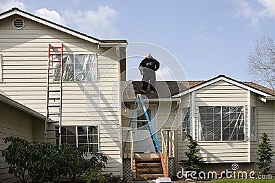 Pittura esterna della camera fotografia stock libera da diritti immagine 5047327 - Pittura esterna casa ...