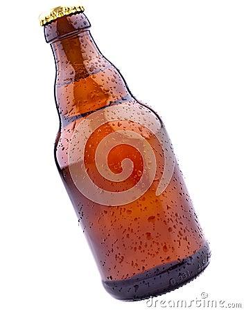 Piwnej butelki brąz niemiec