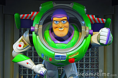 Pixar buzz lightyear Editorial Stock Photo
