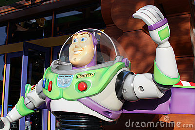 Pixar s Buzz Lightyear Editorial Photo