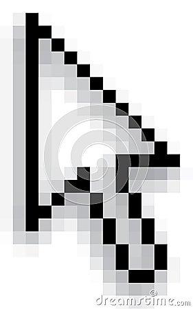 Pixel computer cursor