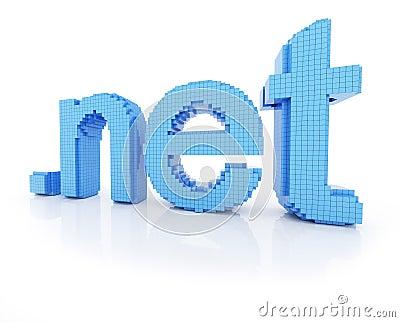 Pixel domain symbol dot net