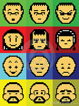 Pixel Faces