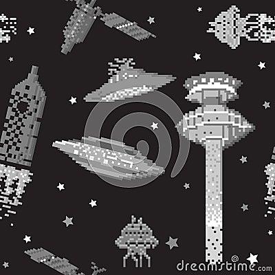 Free Pixel Pattern Stock Image - 24760801
