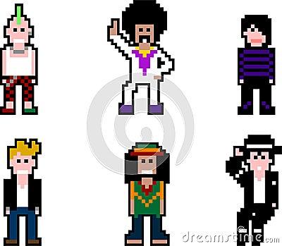 Pixel people- musicians