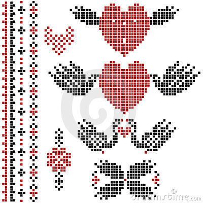 Pixel wedding decor