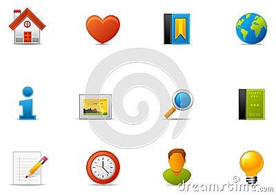 Pixio set #1 - Website and Internet blogging icon