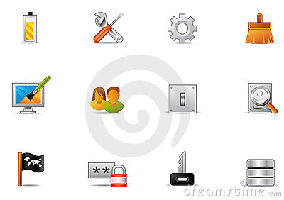 Pixio set #16 - Control panel icons