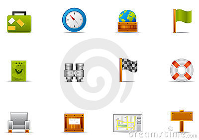 Pixio set #2 - Leisure time & Traveling icon