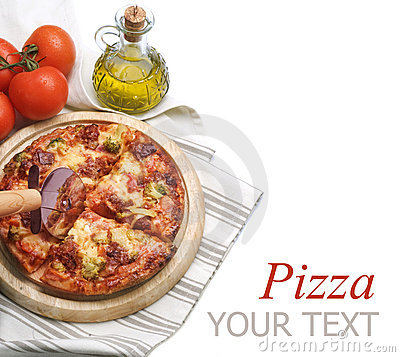 Free Pizza Royalty Free Stock Photography - 18168847