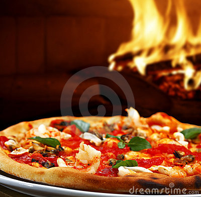 Free Pizza Stock Photography - 19086402