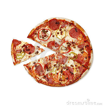 Free Pizza Royalty Free Stock Photography - 4125947