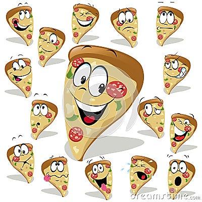 Pizza cartoon