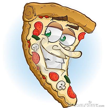Pizza Charakter
