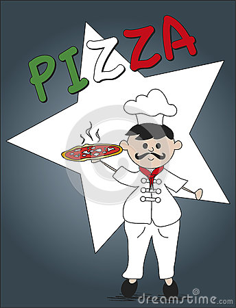 Pizza Chef Stock Image - Image: 28992261