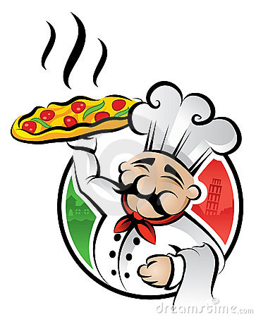 Free Pizza Chef Royalty Free Stock Images - 8751369