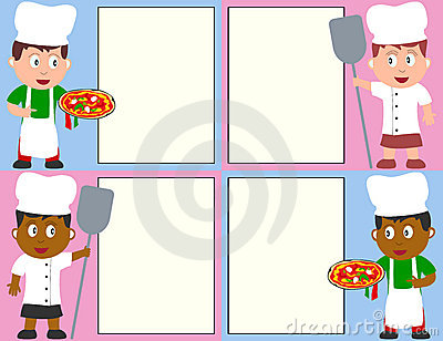 Pizza Chefs and Menu