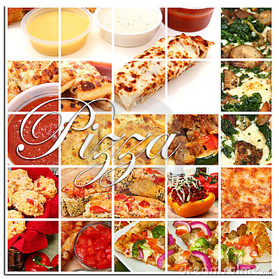 Free Pizza Collage Royalty Free Stock Photography - 15244267