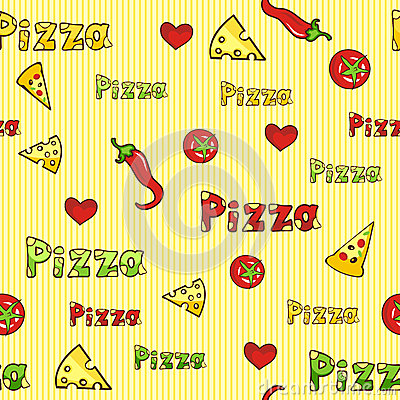 repeating pizza background - photo #20