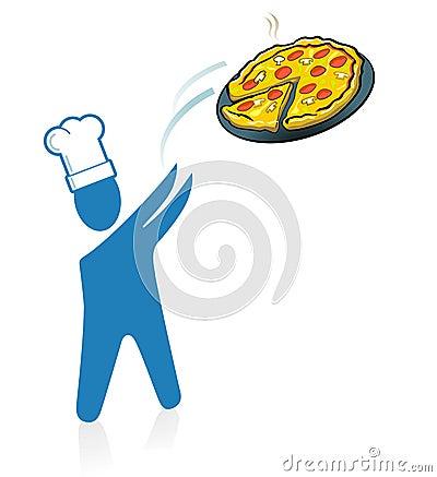 Pizza fast service
