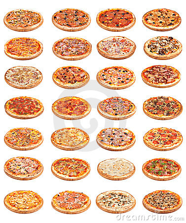 Free Pizza Food Stock Image - 22191051